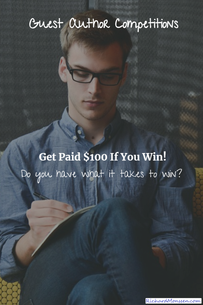 guest author competitions where bloggers get paid!